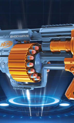 NERF Elite 2.0 Shockwave RD-15 Blaster Review