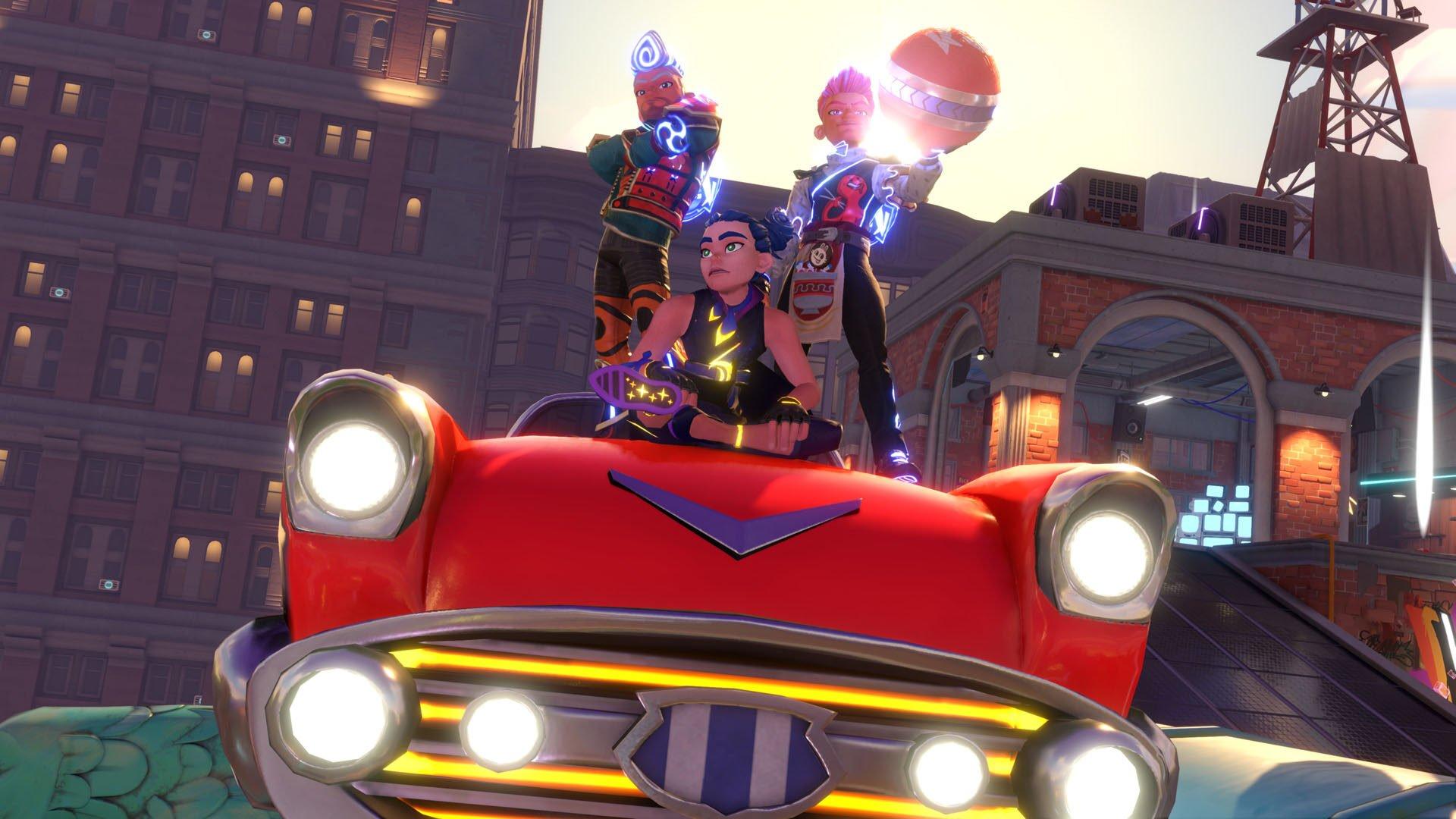 Knockout City Car